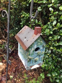 The infamous birdhouse.