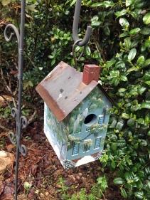 The infamous birdhouse.